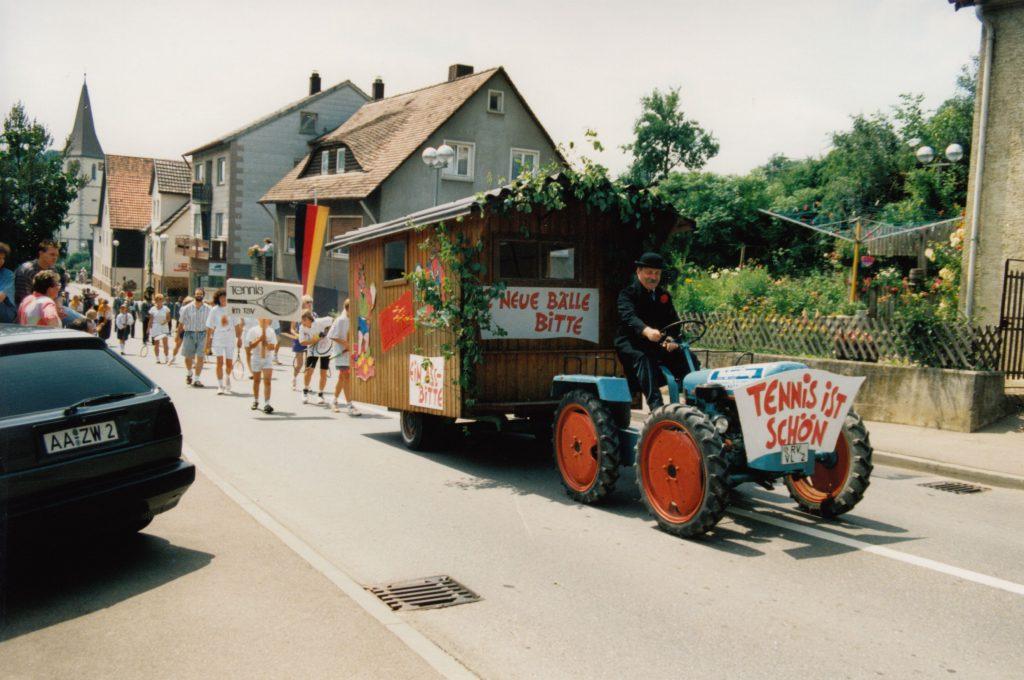 Festumzug 100 Jahre TSV Hüttlingen