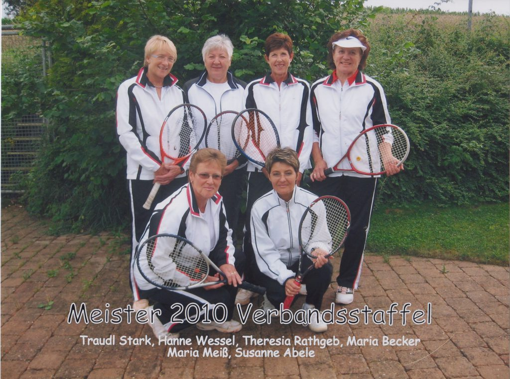 Damen 50 Meister Verbandsstaffel 2010